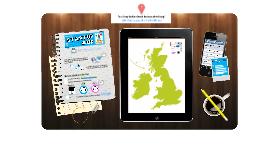 Startup Amp UK and Republic of Ireland Map!