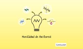 Copy of Teoria de la movilidad de factores