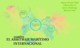 EL ARBITRAJE MARÍTIMO INTERNACIONAL