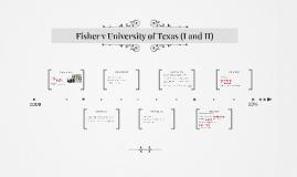 Fisher v University of Texas