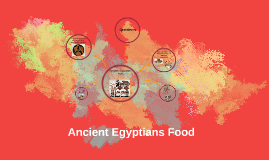 Ancient Egyptians food.