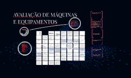 Copy of Copy of AVALIAÇÃO DE MÁQUINAS E EQUIPAMENTOS