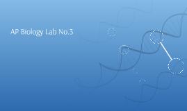 AP Biology Lab No.3