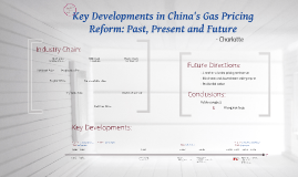 Key Developments in China's Gas Pricing Reform