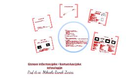 Informacijska i komunikacijska tehnologija