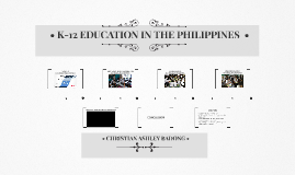 K-12 IN THE PHILIPPINES