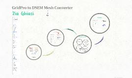 GridPro to DSEM Mesh Converter