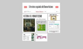 Literatura española del Romanticismo