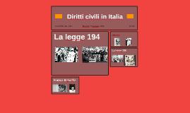 Diritti civili in Italia