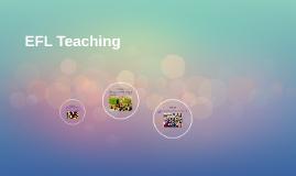 EFL Teaching Kids