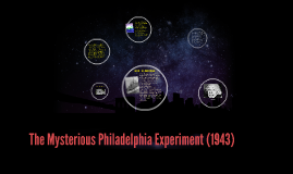 The mysterious Philadelphia Experiment (1943)