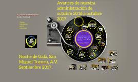 Noche de Gala, San Miguel Tucuru, A.V.  Septiembre 2016.
