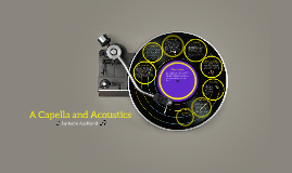 Acapella and Acoustics