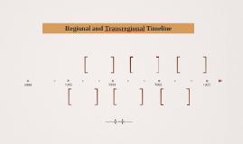 Regional and Transregional Timeline