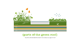 parts of the green roof