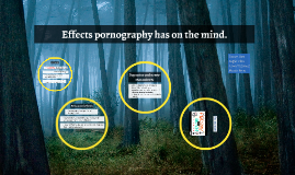 Effects pornography has on the mind.