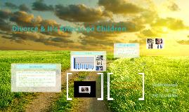 Divorce & It's Affects on Children