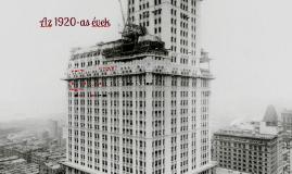 Az 1920-as évek (copy)