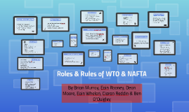 Roles & Rules of WTO & NAFTA