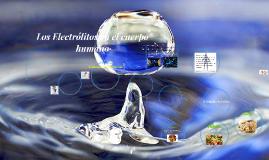 Copy of Los Electrolitos en el cuerpo humano.