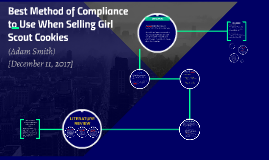 Best Method of Compliance to Use When Selling Girl Scout Coo