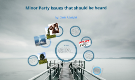 government minor party issues