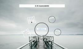 2.10 Assessment
