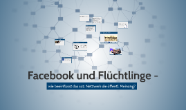 Facebook und Flüchtlinge