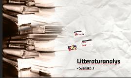 Copy of Litteraturanalys