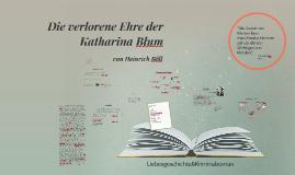 Copy of Die verlorene Ehre der Katharina Blum