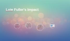 Loie Fuller's Impact