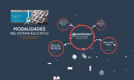 MODALIDADES - Ciclo de Talleres 2018