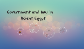 Government and law in