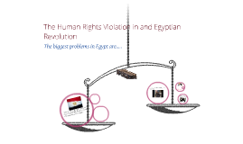 Copy of The Human Rights in Egypt