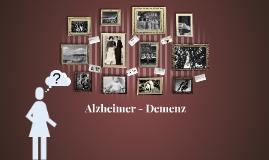 Alzheimerdemenz