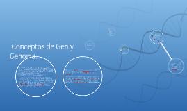 Copy of  Conceptos de Gen y Genoma.