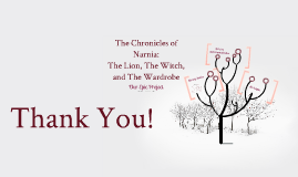 Epic Project: The Chronicles of Narnia: The Lion, The Witch, and The Wardrobe
