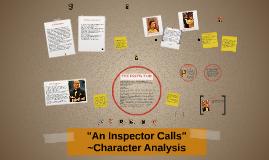 """""""An Inspector Calls"""""""