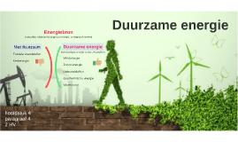 2HV H4 P4 Duurzame energie