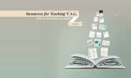 Resources for Teaching TAG students