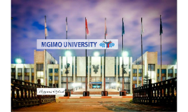 Russian universities: MGIMO University (Moscow)
