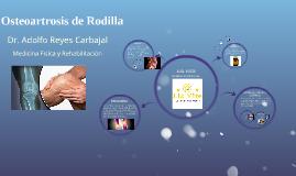 Osteoartrosis de Rodilla