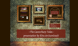 Chaucer's Cantebury Tales