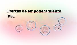 Copy of Ofertas de empoderamiento