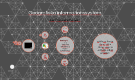 Geografiska informationssystem
