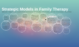 Strategic Models in Family Therapy