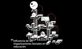 Influencia de las Organizaciones Sociales en la educación