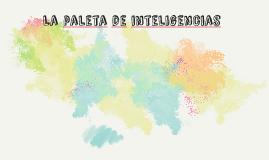 La paleta de inteligencias