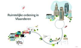 Ruimtelijke ordening in Vlaanderen