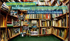 Exposición literaria (Día internacional del libro)